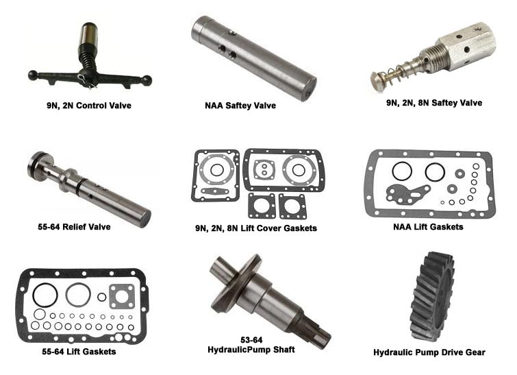 Wiring Diagram: 33 Ford 2000 Tractor Hydraulic Pump Diagram