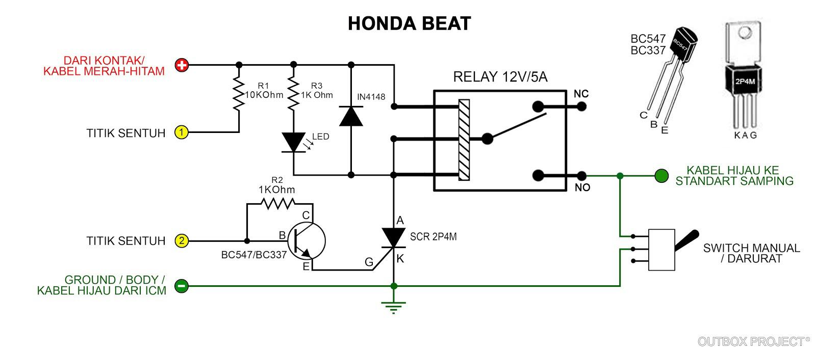 [View 20+] Wiring Diagram Honda Beat Esp