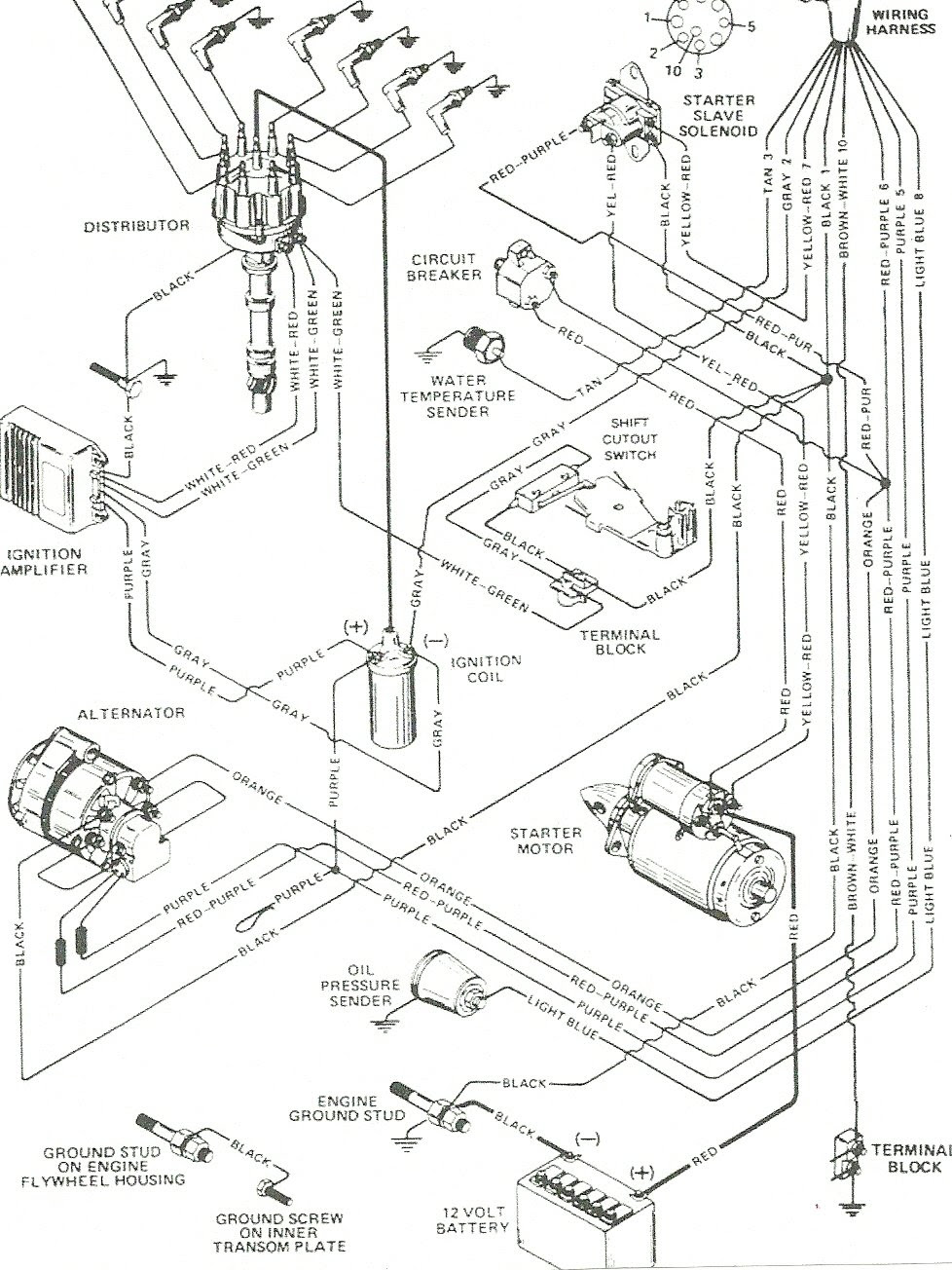 Mercruiser 5 7 Engine Diagram