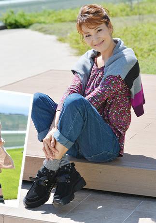 モダンファッションスタイル: 心に強く訴える岡田 可愛 ...