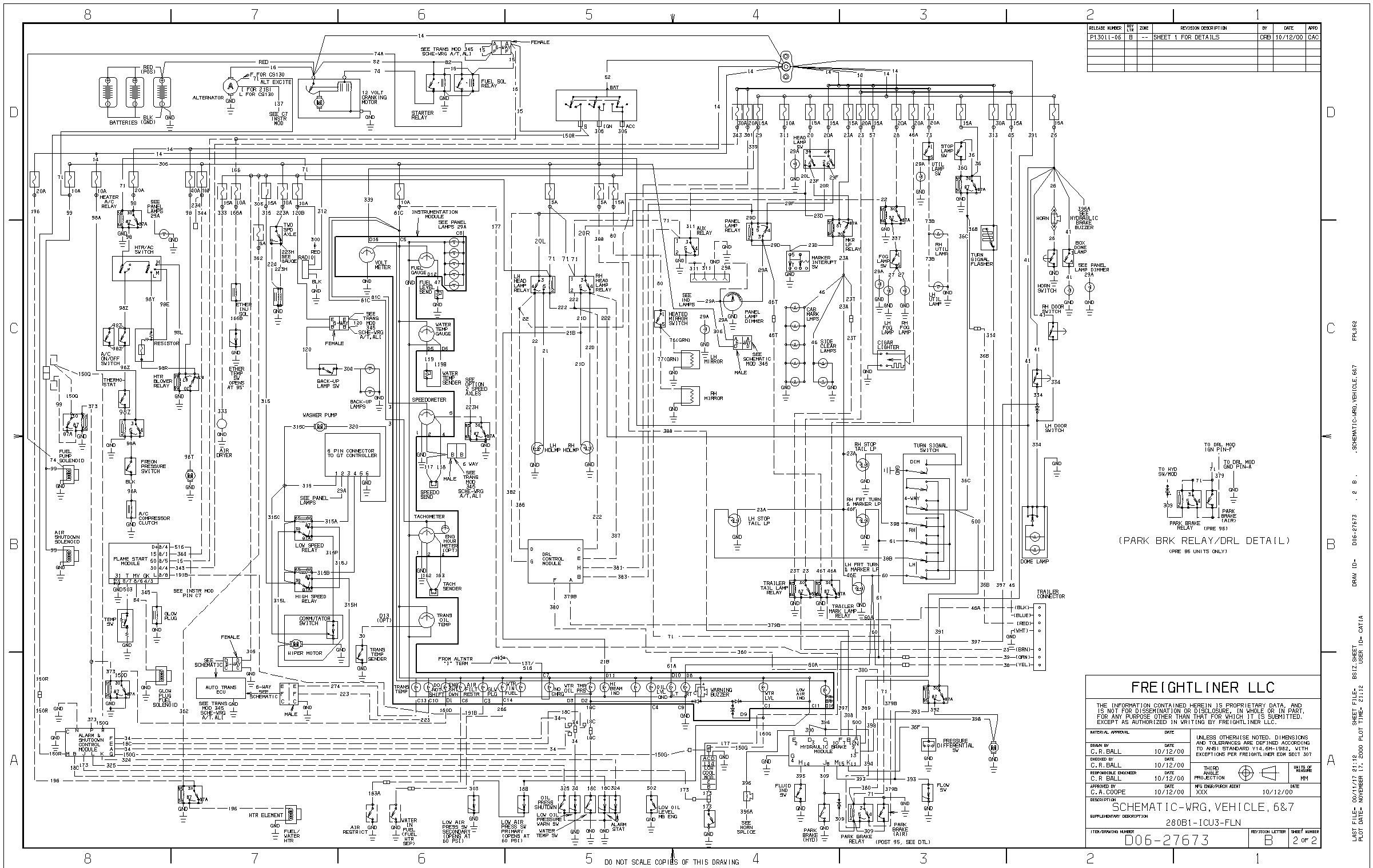 Circuit Electric For Guide: 2007 sterling truck wiring diagram