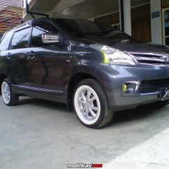 Grand New Avanza Warna Hitam Putih 84 Modifikasi Stiker Mobil 2017