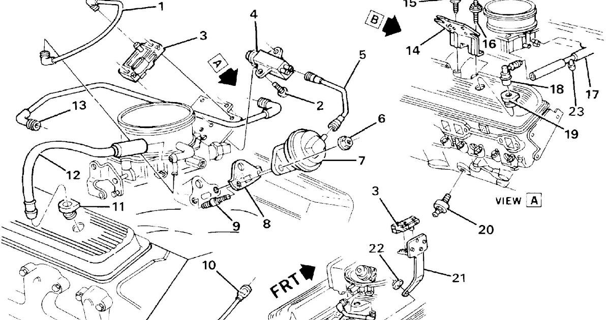 1992 Caprice 5 7 Engine Wiring Harness