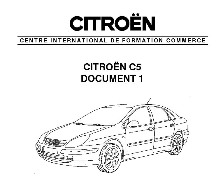 Citroen C5 Wiring Diagram