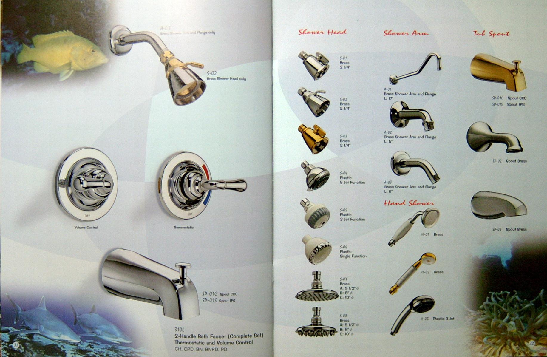 water heater alarm types of shower handles