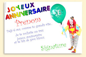 message anniversaire fille 9 ans angelyn