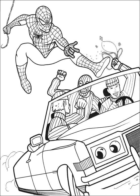 Malvorlagen Spiderman Zum Ausmalen - Zeichnen und Färben