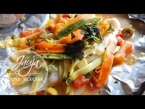 Pescado Empapelado  Jauja Cocina Mexicana  Cocina Ya
