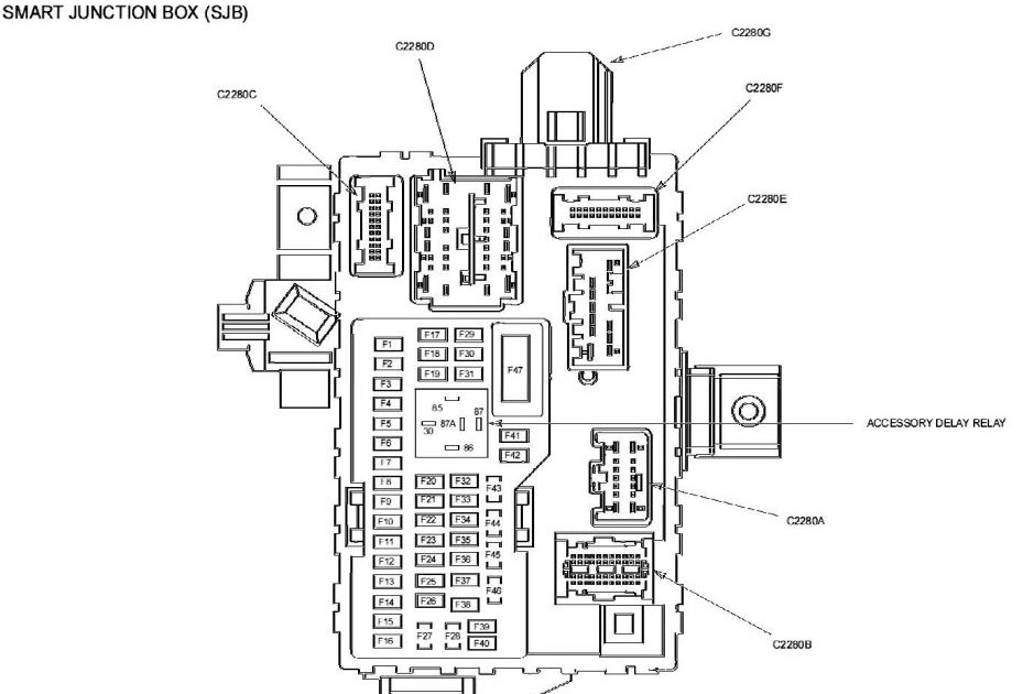 2014 Fusion Fuse Diagram
