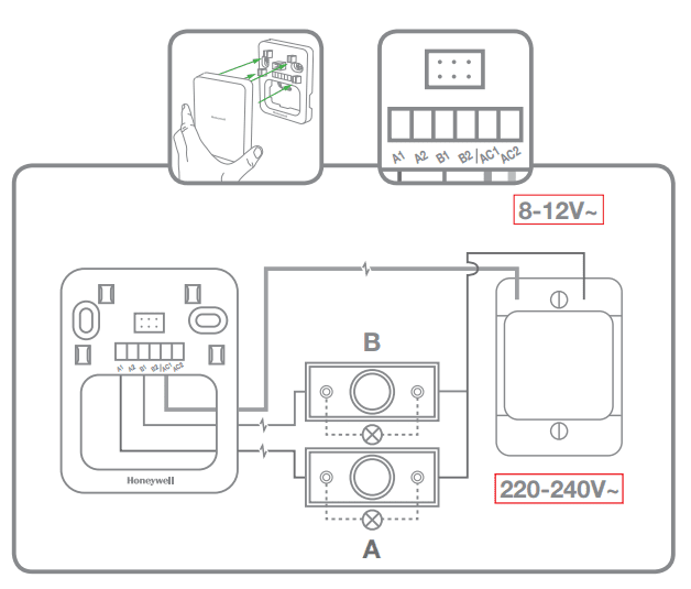 Doorbell Wiring Diagram Single Button