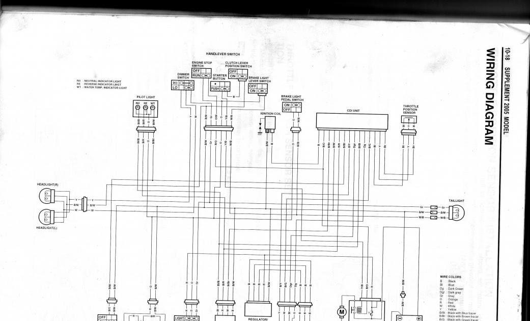 Wiring Diagram Ltz 400 2004 : 2004 Suzuki Ltz 400 Wiring