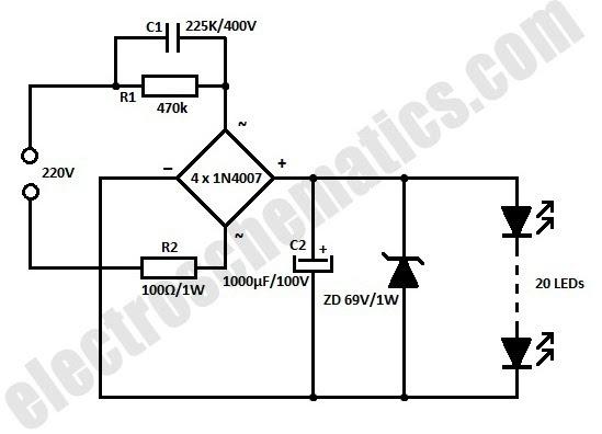 Ts Big Idea: 5watt Led Ac Circuits