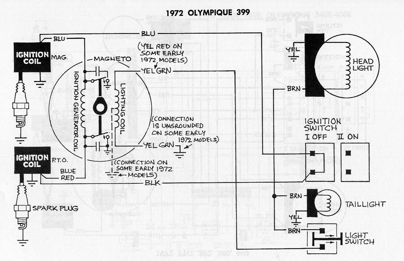 1990 Ski Doo Formula 500 Wiring Diagram