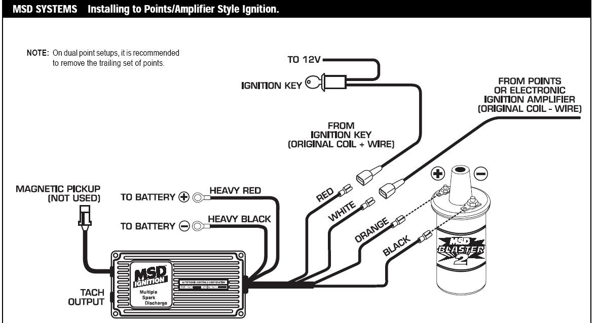 Msd 6A Wiring Diagram Ford / Wiring Msd 6 Into 1978 Ford