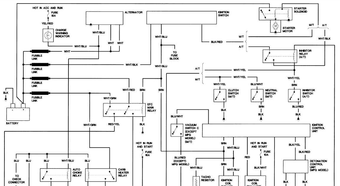 1997 Nissan Pickup Electrical Diagram / I need a dash