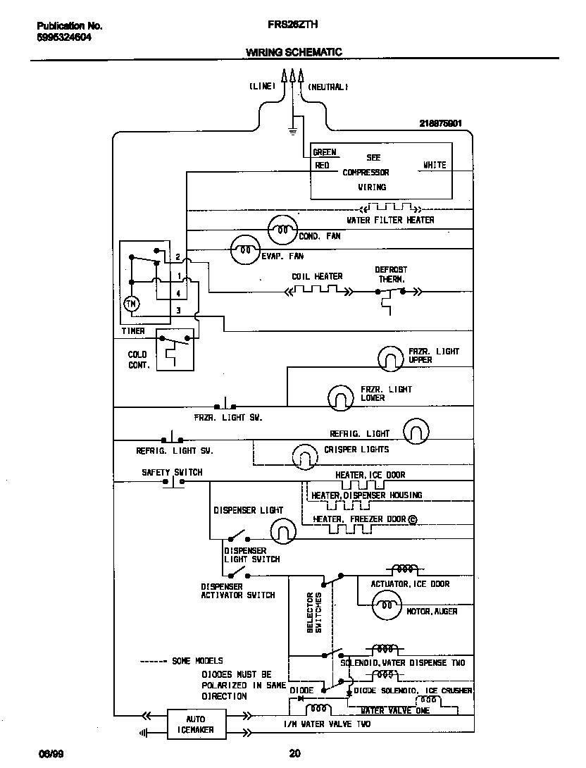 Wiring Diagram: 34 Frigidaire Refrigerator Wiring Diagram