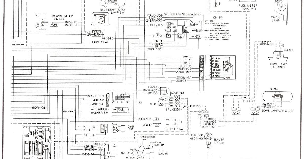 bmwwiringdiagram: 1987 Chevy Truck Door Wiring Harnes