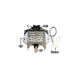 12v Ford Alternator Regulator Vr Pr126 940038162 11125113