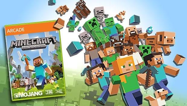 Minecraft é o segundo mais jogado no Xbox Live ~ Game'z inside