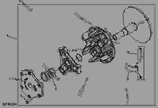 Wiring Diagram: 34 John Deere Gator 825i Parts Diagram