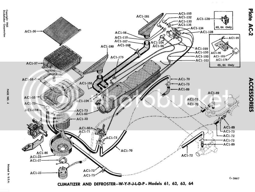 The Studeblogger: Lark Heater rebuild, Part 3: Installation