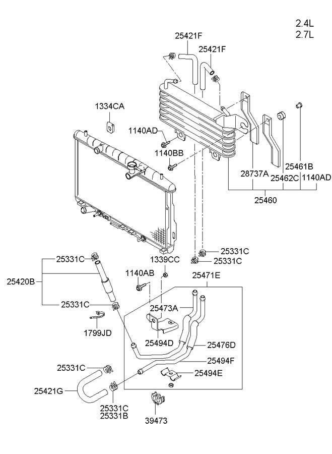 2007 Hyundai Santum Fe Fuse Diagram