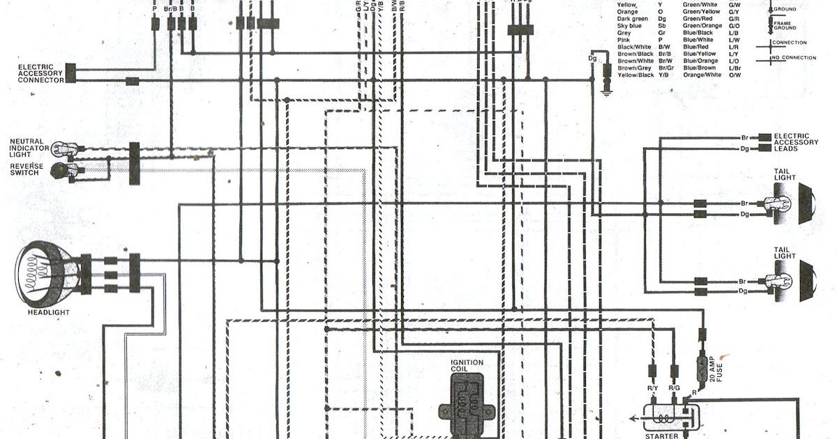 36+ 1987 Honda Trx 250 Wiring Diagram