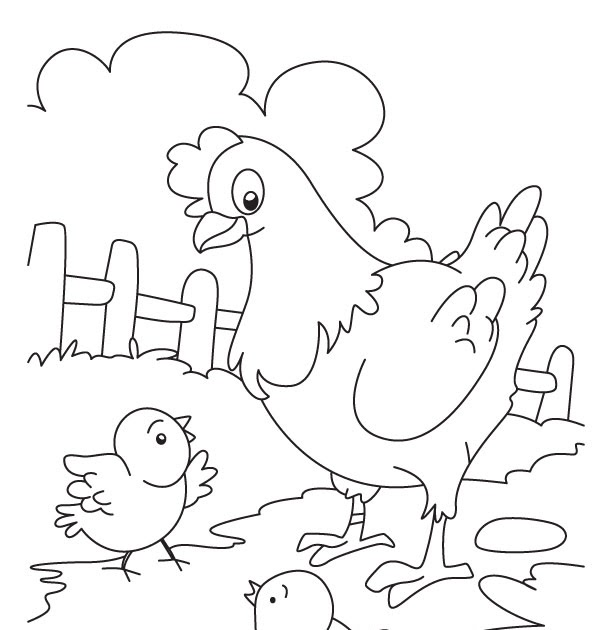 Mewarnai Gambar Anak Ayam Kartun : Ac 5547 Carling