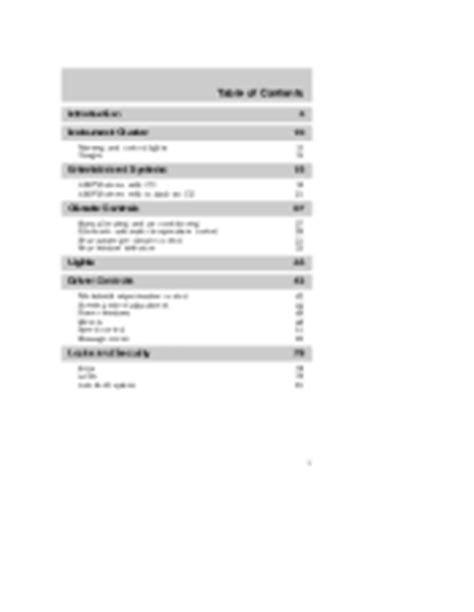 Free Read 2004 mercury mountaineer owners manual free PDF