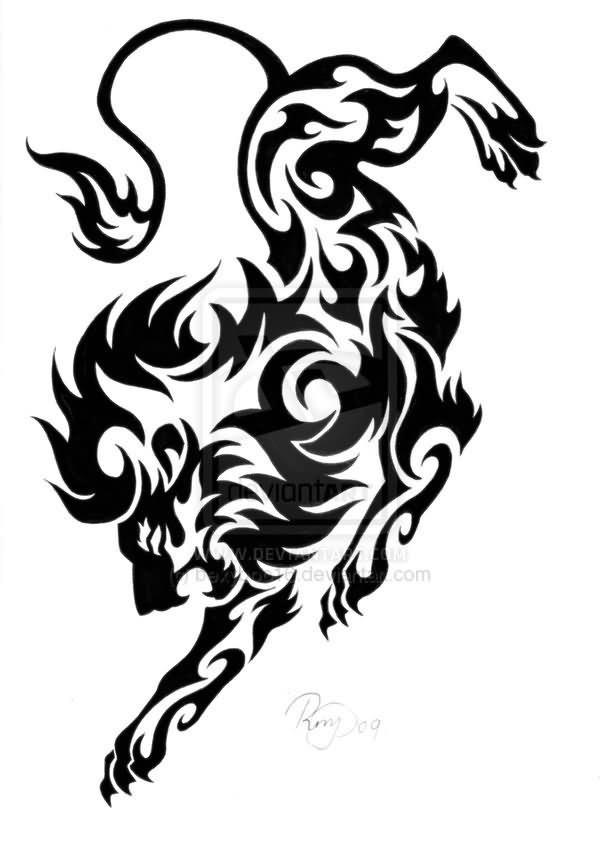 Tribal Leo Tatoo : tribal, tatoo, Tribal, Tattoo, Designs