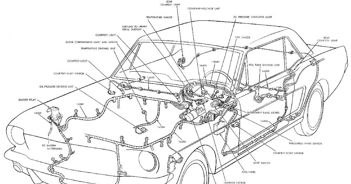 1965 Mustang Gt Gauge Wiring Diagram