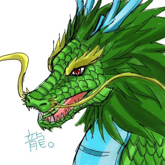 すべての動物畫像: 最新のHDかっこいい 龍 イラスト 顔