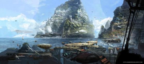 Megan Rosseey: Concept ships by ATAnderson