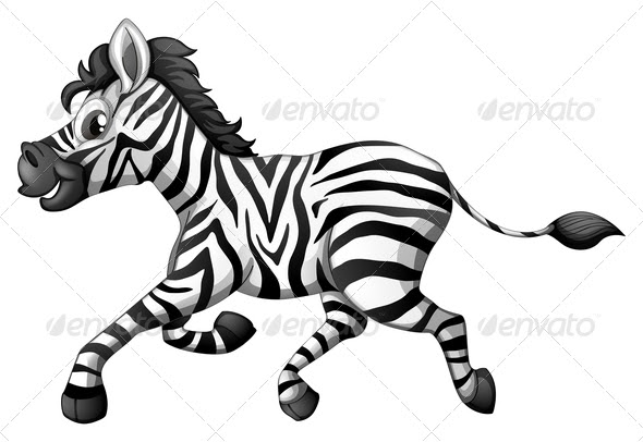 Zebra Running (Animals) Download ~ Best GFX Download