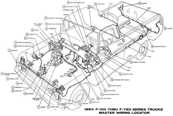 [DIAGRAM] Ford F100 Wiring Diagram 1965