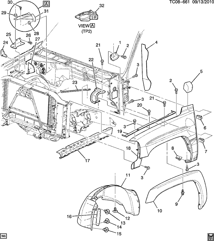 Wiring Diagram: 30 Silverado Parts Diagram
