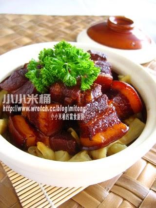 小小米桶: 筍乾焢肉