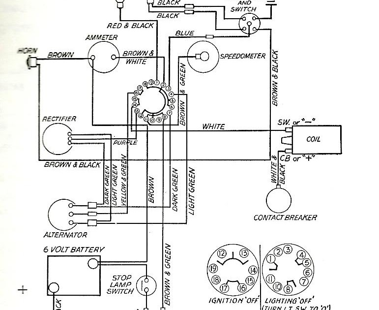 Wiring Diagram: 29 Tr6 Wiring Diagram