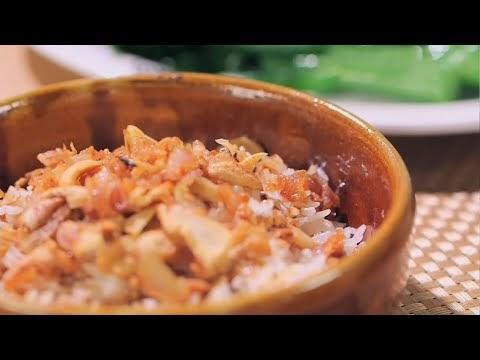 香港食譜影片網: 豬油撈飯 (阿爺廚房)