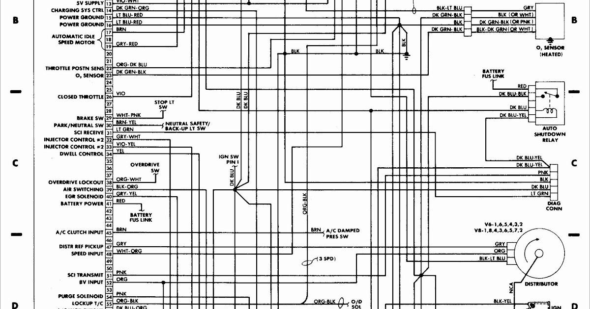 1997 Jeep Grand Cherokee Oxygen Sensor Wiring Diagram