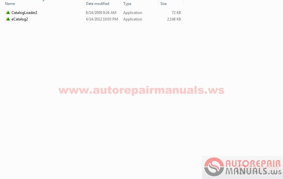 Free Auto Repair Manual : Hyundai E-Catalogue 2013 (Robex
