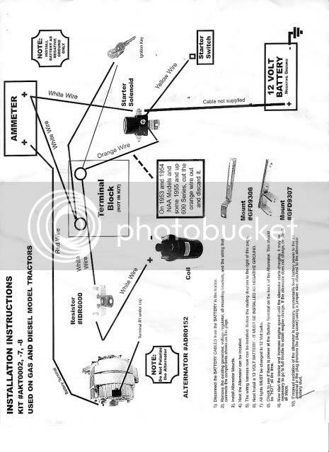Ford Jubilee Diagram