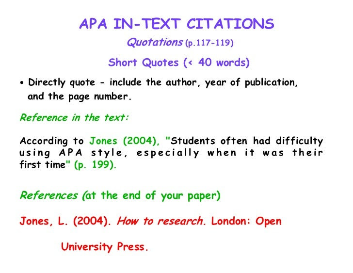 Apa style referencing book page number cave bat thesis