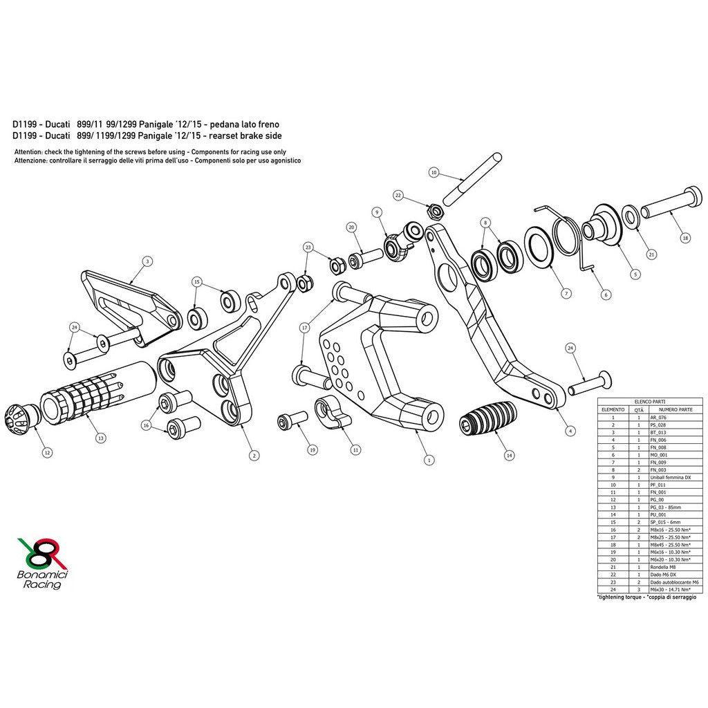 Ducati Scrambler Parts Diagram ~ Moto250x