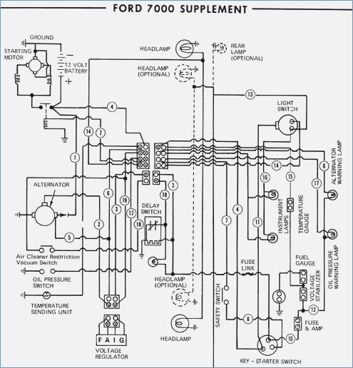 Ford 1600 Tractor Wiring Diagram / Ford 601 Workmaster