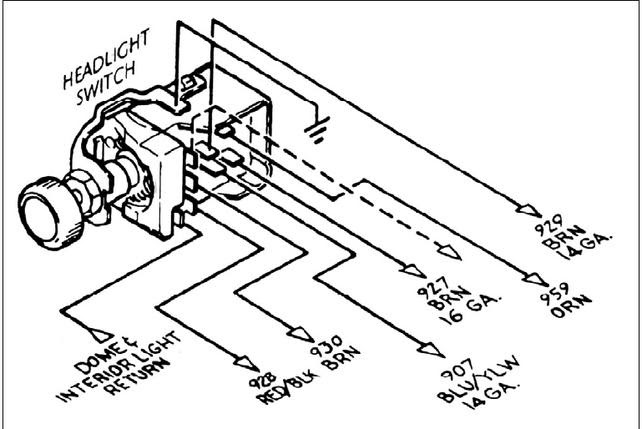 [DIAGRAM] 1950 Chevy Truck Headlight Switch Wiring Diagram