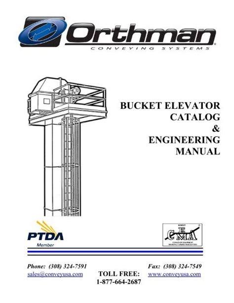 Download PDF Online bucket elevator catalog engineering