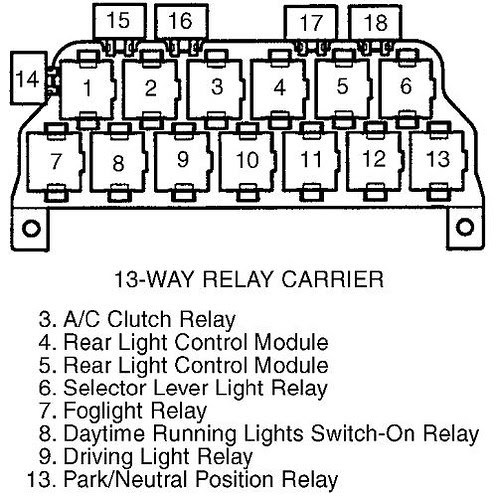 Wiring Diagram: 33 2001 Audi A4 Relay Diagram