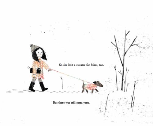 Extra Yarn, written by Mac Barnett and illustrated by Jon