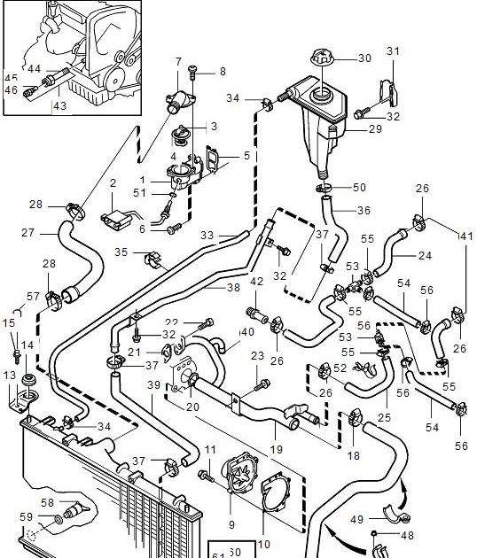 2000 Volvo S80 Engine Diagram : 2000 Volvo V70 Engine